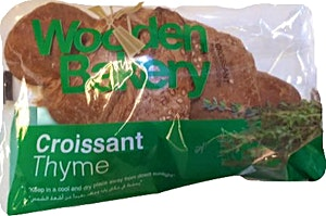 Wooden Bakery Croissant Thyme 85 g