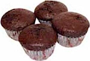 Wooden Bakery Muffin Bonbon Chocolate 18 g