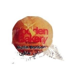 Wooden Bakery Muffin Bonbon Vanilla 18 g