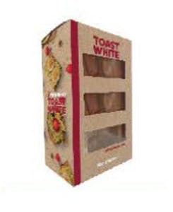 Wooden Bakery Toast White 260 g