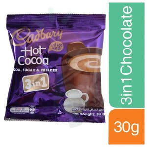 Cadbury 3 In 1  Hot Cocoa 30 g