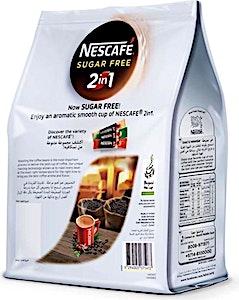 Nescafe 2-in-1 Sugar Free 20 + 5 Free