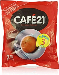 Cafe 2-in-1 Sugar Free 25's