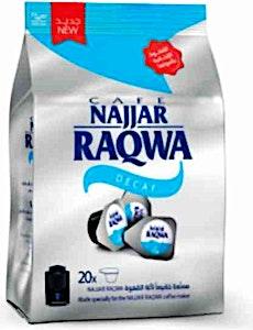 Najjar Raqwa Capsule Decaf Bag 20's