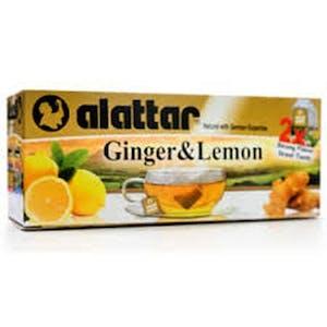 Alattar Ginger & Lemon 20's