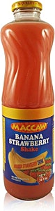 Maccaw Banana Strawberry Shake 1 L