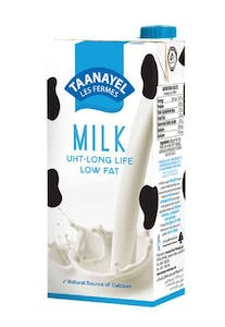 Taanayel UHT Low Fat Milk 1 L