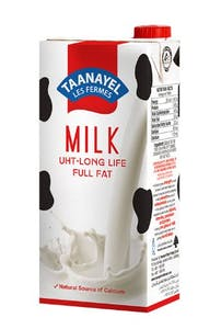 Taanayel UHT Full Fat Milk 1 L