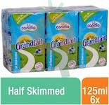 Candia UHT Milk Half Skimmed 125 ml