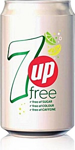 Diet 7up Can 330 ml