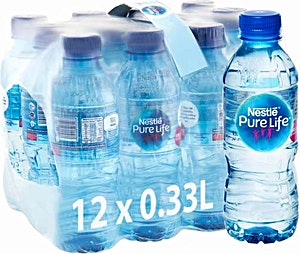 Nestle Pure Life  0.33 L Regular - Pack of 12