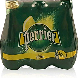Perrier Lemon Glass 0.2 L  - Pack of 6