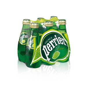 Perrier Lime Glass 0.2 L