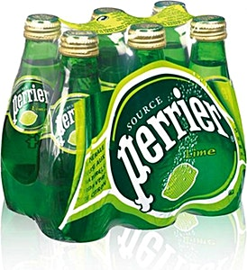 Perrier Lime Glass 0.2 L - Pack of 6