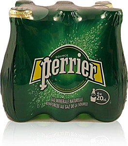 Perrier Nature Glass 0.2 L - Pack of 6