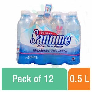 Sannine Mineral Water 0.5 L