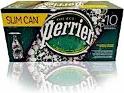 Perrier Lemon Can 250 ml - Pack of 10