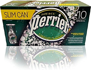 Perrier Nature Can 250 ML - Pack of 10