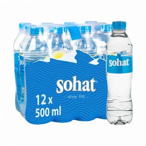 Sohat Water Pack 12 x 0.5 L