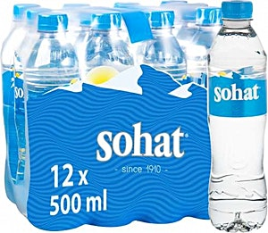 Sohat Water 0.5 L - Pack of 12
