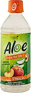Aloe Vera Drink Peach 350ml