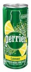 Perrier Lemon Can 250 ml