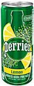 Perrier Lemon Can 250 ml '1