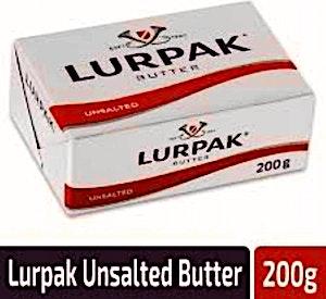 Lurpak Butter Unsalted 200 g