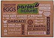 Bio Panier Naturel Eggs Omega 3 - 6 's