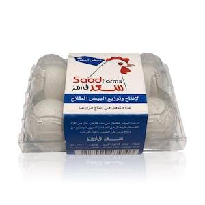Saad Eggs White 6's