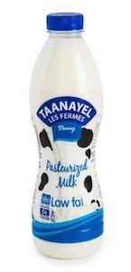 Taanayel Fresh Milk Low Fat 1 L
