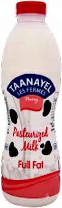 Taanayel Fresh Milk Full Fat 1 L