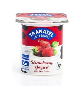 Taanayel Strawberry Flavored Yogurt 125 g
