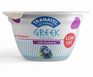 Taanayel Greek Yogurt & Blueberry Low Fat 150 g