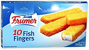 Frumer 10 Fish Finger 250 g 2+1 Free