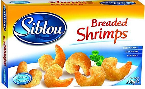 Siblou Breaded Shrimps 250 g