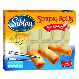 Siblou Spring Roll Shrimps 240 g