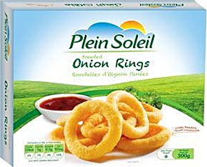 Plein Soleil Breaded Onion Rings 300 g
