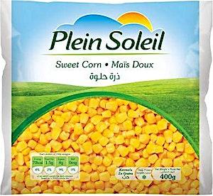 Plein Soleil Sweet Corn  Frozen 400 g