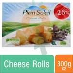 Plein Soleil Cheese Rolls x 2 25%