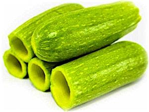 Hollowed Zucchini Plate 1 kg
