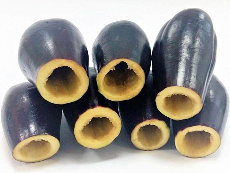 Hollowed Eggplant Plate 1 kg