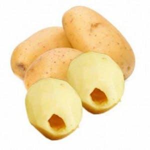Hollowed Potato Plate