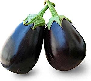 Eggplant Rounded Baladi 0.5 kg