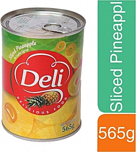 Deli Sliced Pineapple 565 g