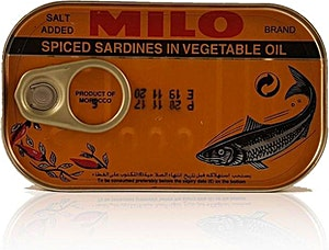 Milo Sardines in Vegetable Oil Spicy 125 g
