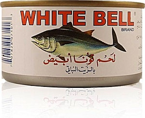 White Bell White Meat Tuna in Vegetable Oil 185 g