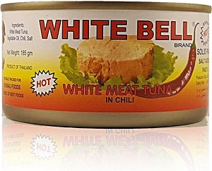 White Bell White Meat Tuna Hot 185 g