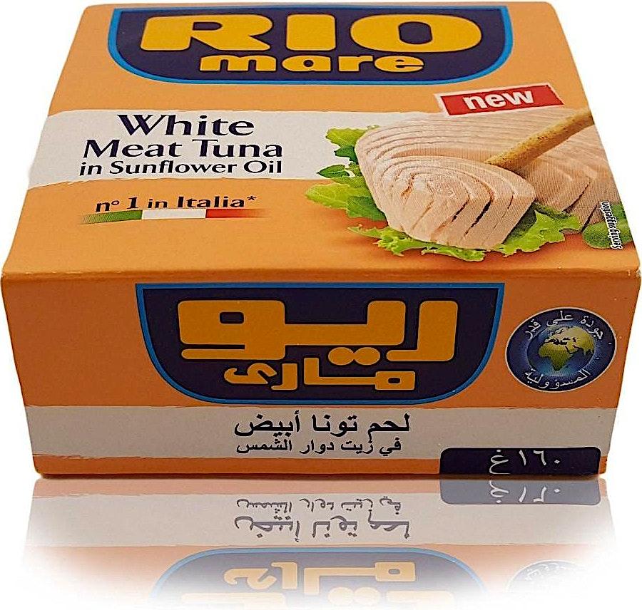 Rio Mare White Meat Tuna in Sunflower Oil 160 g