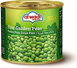 Alwadi Alakhdar Fine Garden Peas 400 g